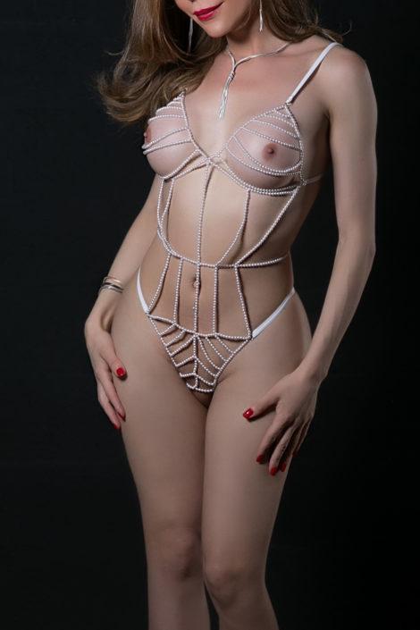 Vestida de perlas - Fotografía Erótica - Fotografía Sensual - Erotic Photography